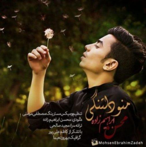 دانلود آهنگ غمگین محسن ابراهیم زاده به نام منو دلتنگی