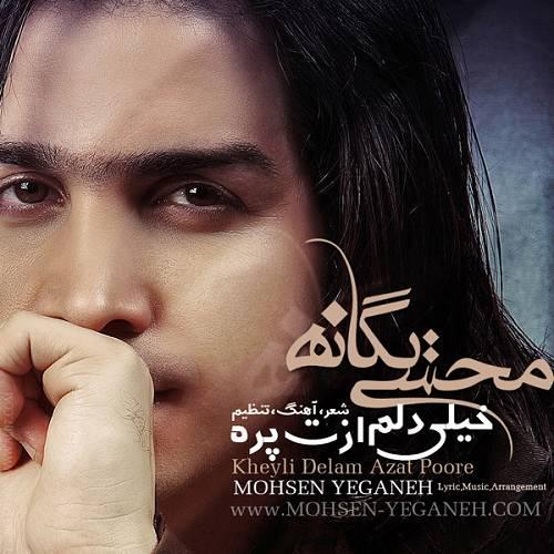 دانلود آهنگ جدید محسن یگانه خیلی دلم ازت پره بدجوری از تو دلخوره